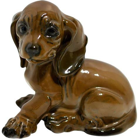puppy figurines rosenthal dachshund puppy figurine 1909 from artfultoysandantiques on ruby