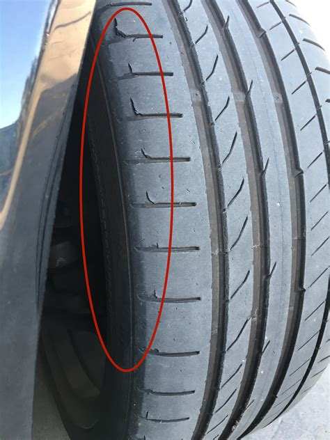 unusual front  tire wear mbworldorg forums