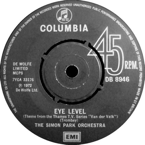 theme music van der valk 45cat the simon park orchestra eye level distant