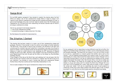 design brief gcse graphics gcse graphics coursework task analysis pdfeports867 web