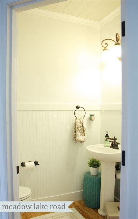 beadboard powder room 13 best images about 1 2 bath ideas on toilets