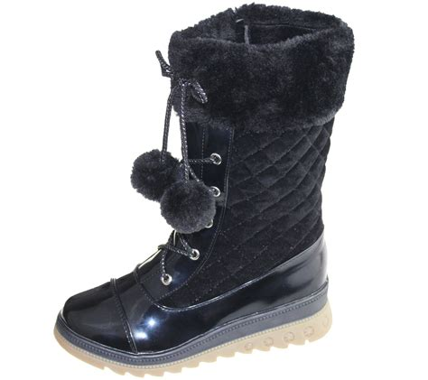 high school shoes for warm lined boots quilted winter warm high