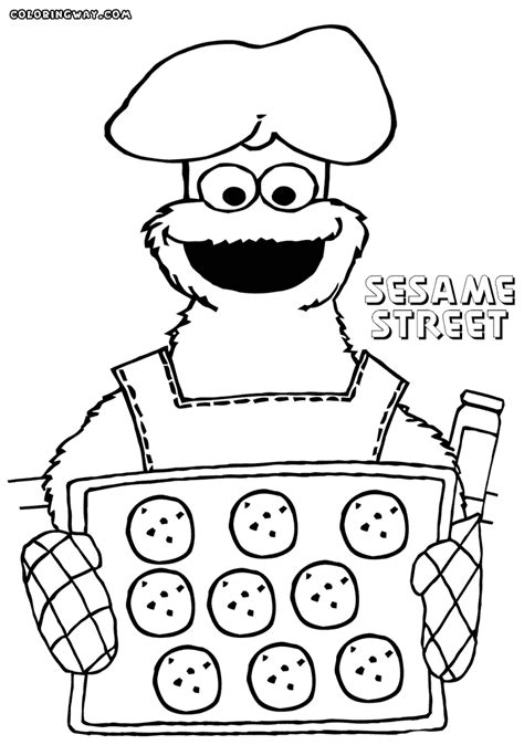 sesame street coloring pages coloring pages to download
