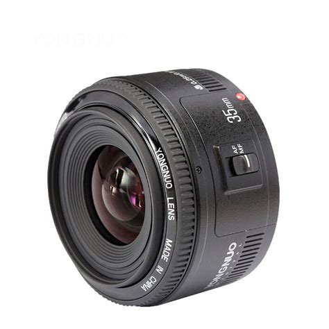 yongnuo 35mm lens yn35mm f2 lens wide angle large aperture fixed auto focus lens for canon ef