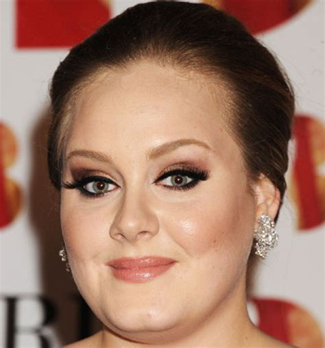 Makeup Adele the beat heat inspired by adele makeup tutorial