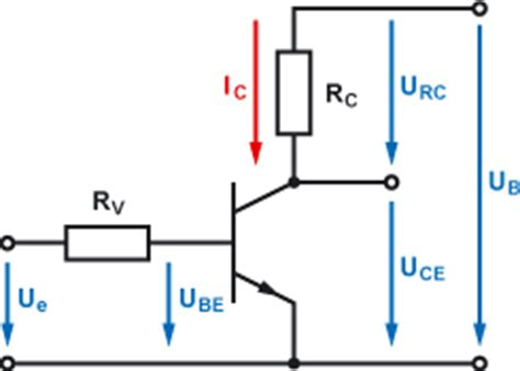 bipolar transistor berechnen transistor als schalter