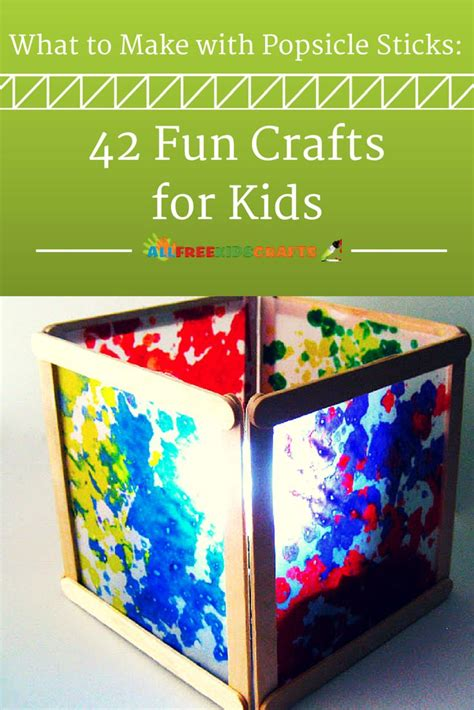 to make with children 25 best ideas about popsicle stick crafts on
