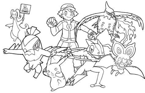 pokemon kalos coloring pages kalos pokemon coloring pages images pokemon images