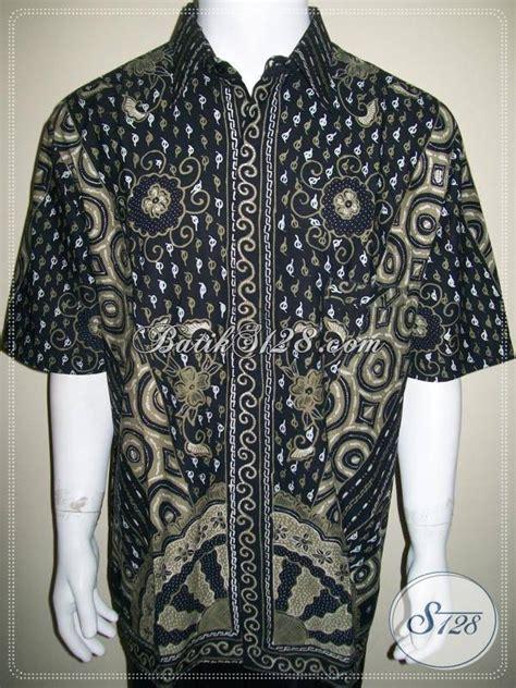 Kemeja Batik Sogan Milo batik kemeja batik tulis ukuran jumbo besar ld329t toko batik 2018