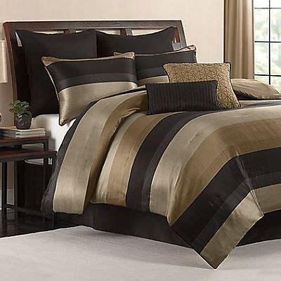 king size satin comforter cal king size comforter set black gold tan satin finish 8