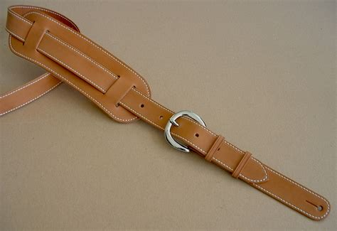 leather straps original plain model leather guitar
