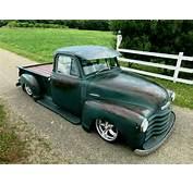 1953 Chevrolet Truck 3100 5 Window Short Bed Patina 1/2