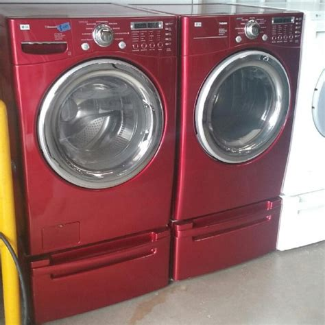 front load washer and dryer lg front load washer and electric dryer set