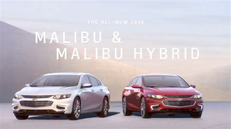 car advertisement the all chevrolet malibu 2016 car advertisement