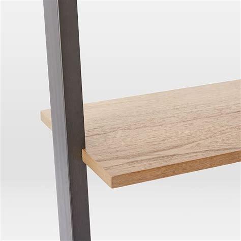 west elm ladder desk ladder shelf desk west elm
