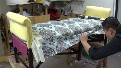 upholstery youtube diy bench with roll arms alo upholstery youtube