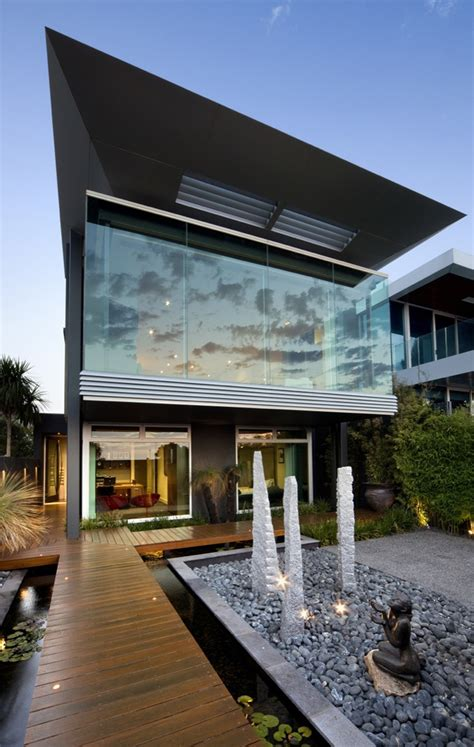 modern house architects world of architecture gorgeous modern facade by finnis