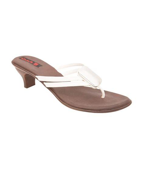 white low heel sandals catch 5 white low heel s sandals price in india buy
