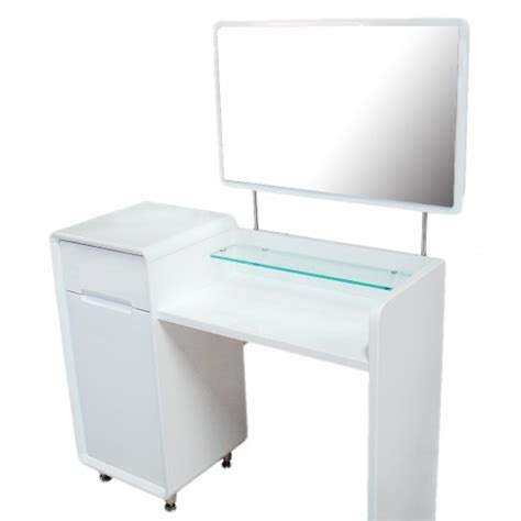 white dressing table white high gloss dressing table combo unit