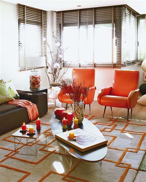 Tangerine Home Decor | tangerine tango in home decor pantone color of the year