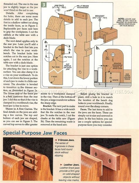 bench vise plans 1279 best images about woodworking on pinterest bench