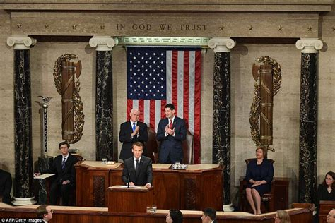 daily mail vice united states french president emmanuel macron addresses congress