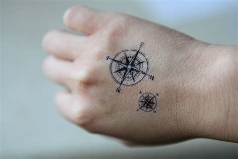 small nautical tattoos compass tattoos designs ideas and meaning tattoos for you