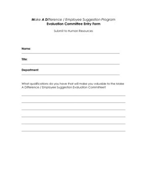 employee suggestion box form template employee suggestion quotes quotesgram