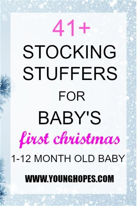 41  Stocking Stuffer Ideas for Baby?s First Christmas (1 12 Month Old Baby)