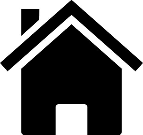 house silhouette free vector graphic home house silhouette icon free image on pixabay 146585