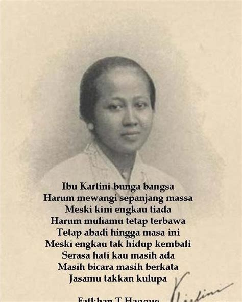 biography text of ra kartini hopeful life ibu kartini
