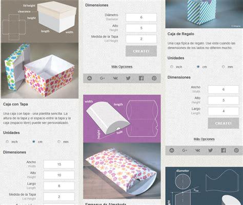 template maker dise 241 a tus cajas gratis con template maker