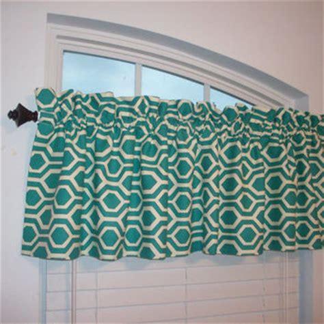 Turquoise Kitchen Valance Shop Kitchen Valance Curtains On Wanelo
