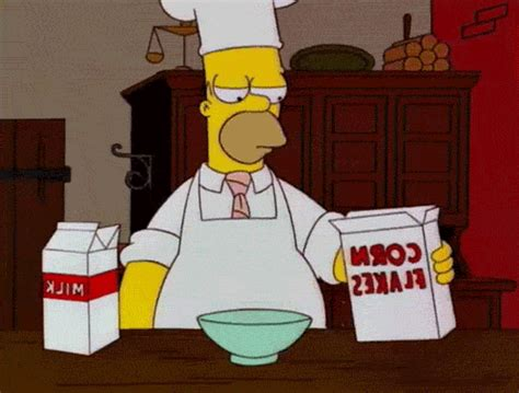 cooking gif homer simpson gif find share on giphy
