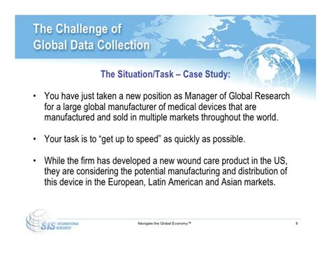challenges of global data collection