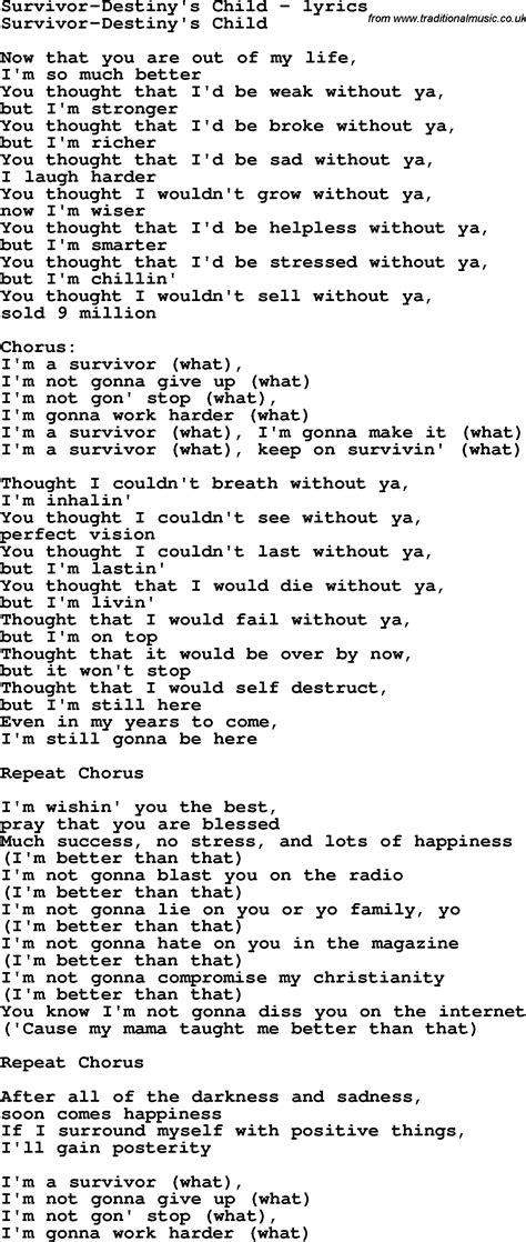 real exile lyrics survivor lyrics