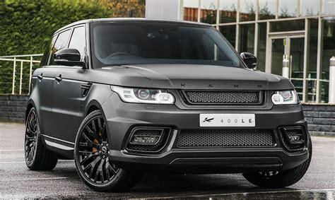 kahn range rover sport kahn range rover sport 400 luxury edition