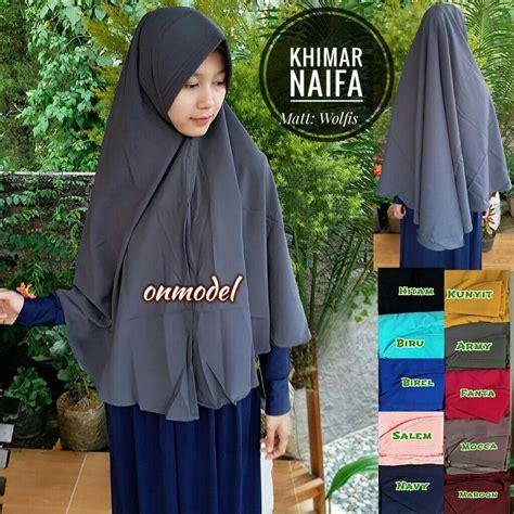 Harga Khimar khimar naifa wolfis sentral grosir jilbab kerudung i supplier jilbab i retail grosir