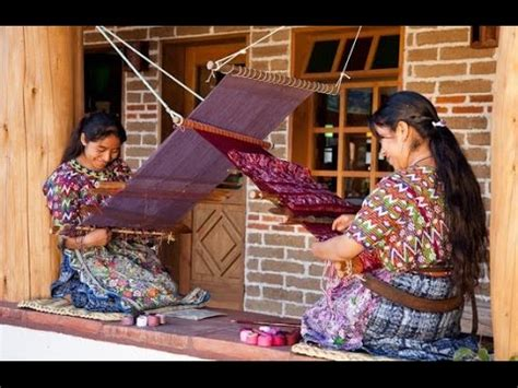 imagenes de artesanias mayas tejedoras maya youtube
