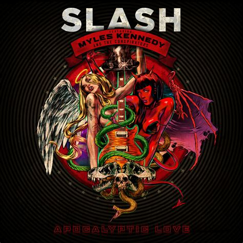 slash reveals cover art and title for second studio album
