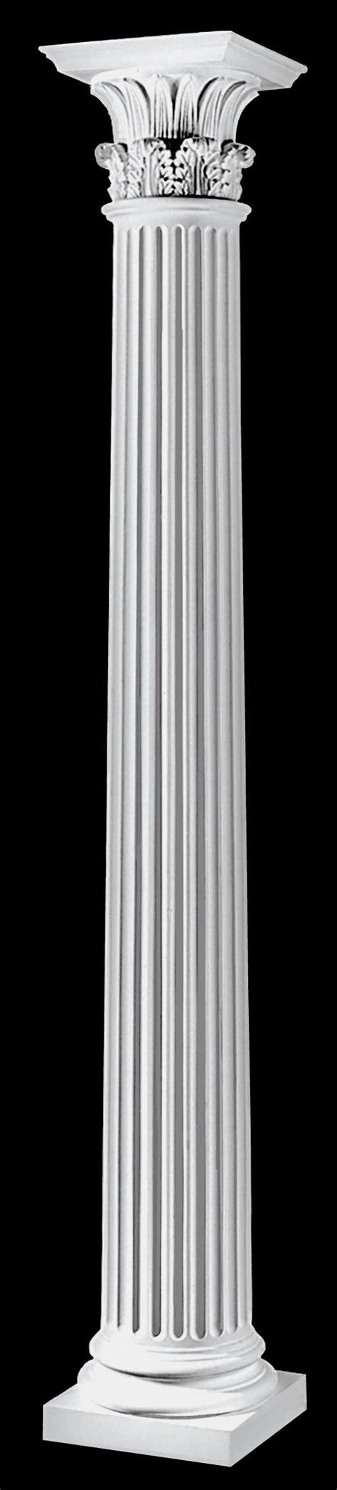 Column L by Fluted Architectural Wood Corinthian Columns