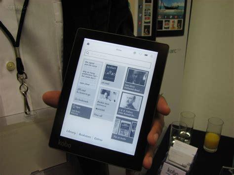 format epub et kobo ifa 2013 kobo aura edge to edge e reader hands on