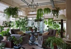 Ordinaire Bambou Plante D Interieur #10: Salon-super-plein-plantes-vertes-jardin-hiver-maison.jpg