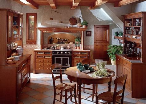 Parisian Kitchen Design Country Kitchens