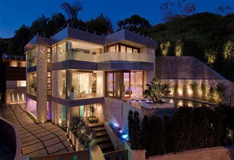 devall design home los angeles fachada de residencia en california de lujo casas y fachadas