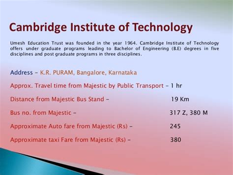Cambridge Distance Learning Mba by Comedk Centers Routes