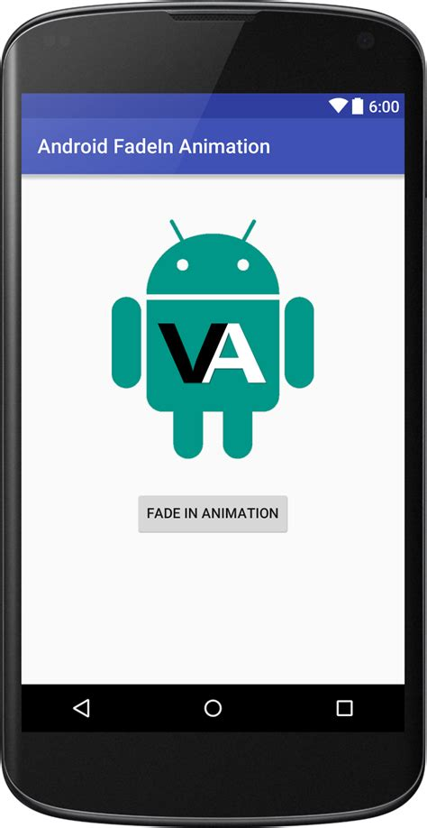 layout fade in animation android fade in animation in android viral android tutorials