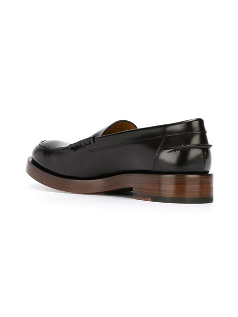 paul smith loafers paul smith chunky sole loafers in black for lyst