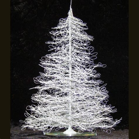 wire christmas tree craft ideas pinterest
