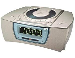 timex cd player dual alarm clock radio and nature sounds sleep machine electronics